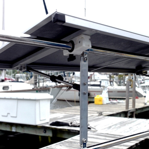 A NEW SOLUTION FOR MOUNT SOLAR PANELS ON YOUR BOAT & YACHTS