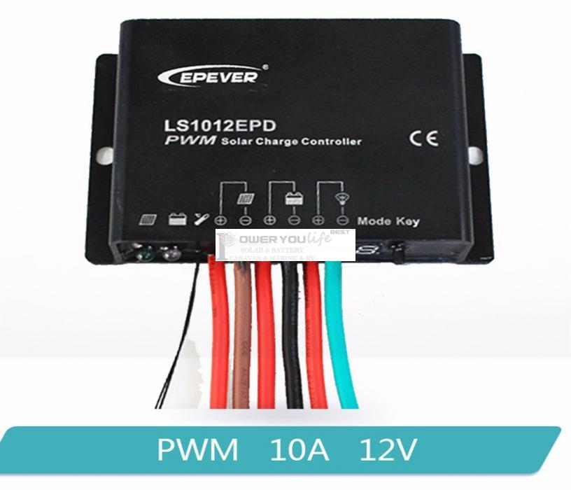 LS1012EPD  ( 10A, 12V) Solar Charge Controller