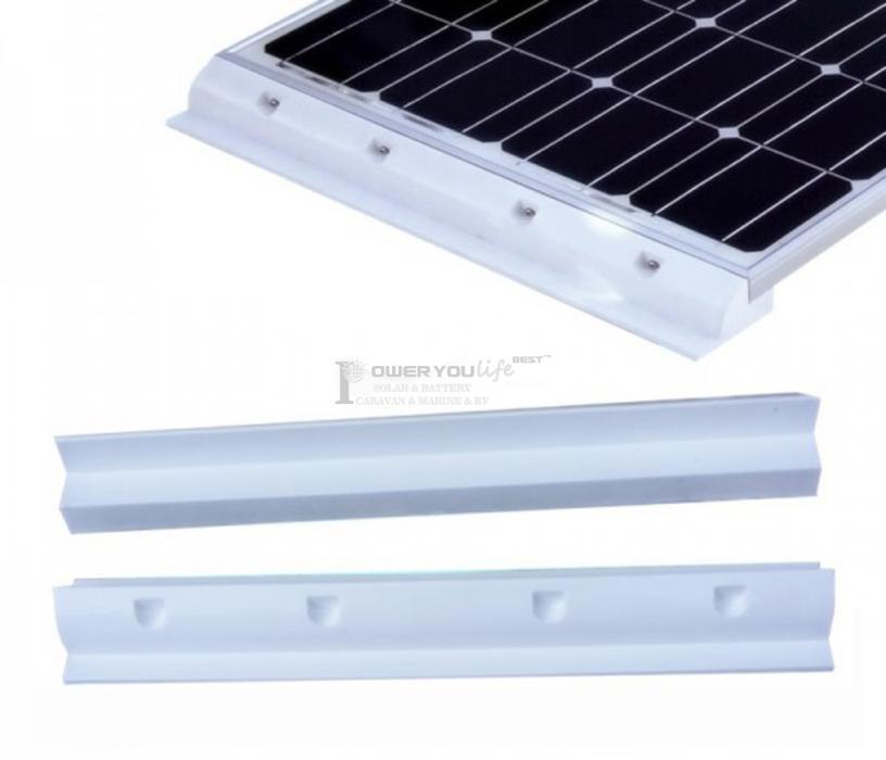 55cm Solar Panel Spoiler White For Caravan Rv Motohome